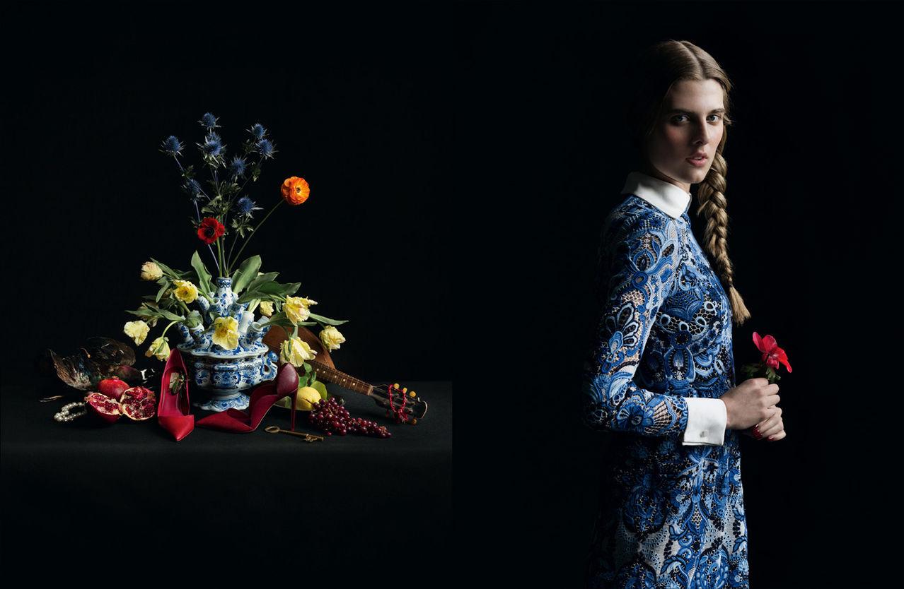 Valentino 2013 photographed by Inez & Vinoodh.