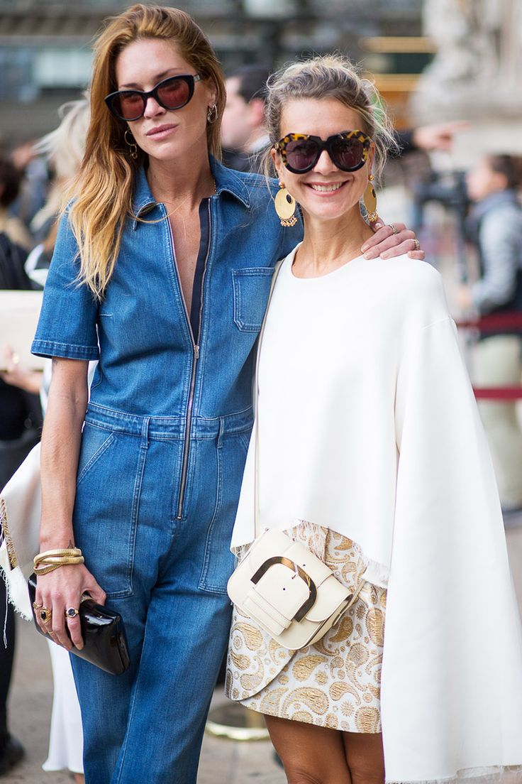 Erin Wasson and Natalie Joos both wearing Stella McCartney