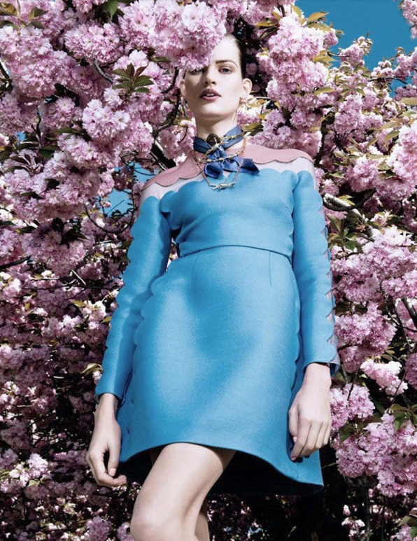 Photograph: Sharif Hamza for Vogue Japan 2013 - Valentino
