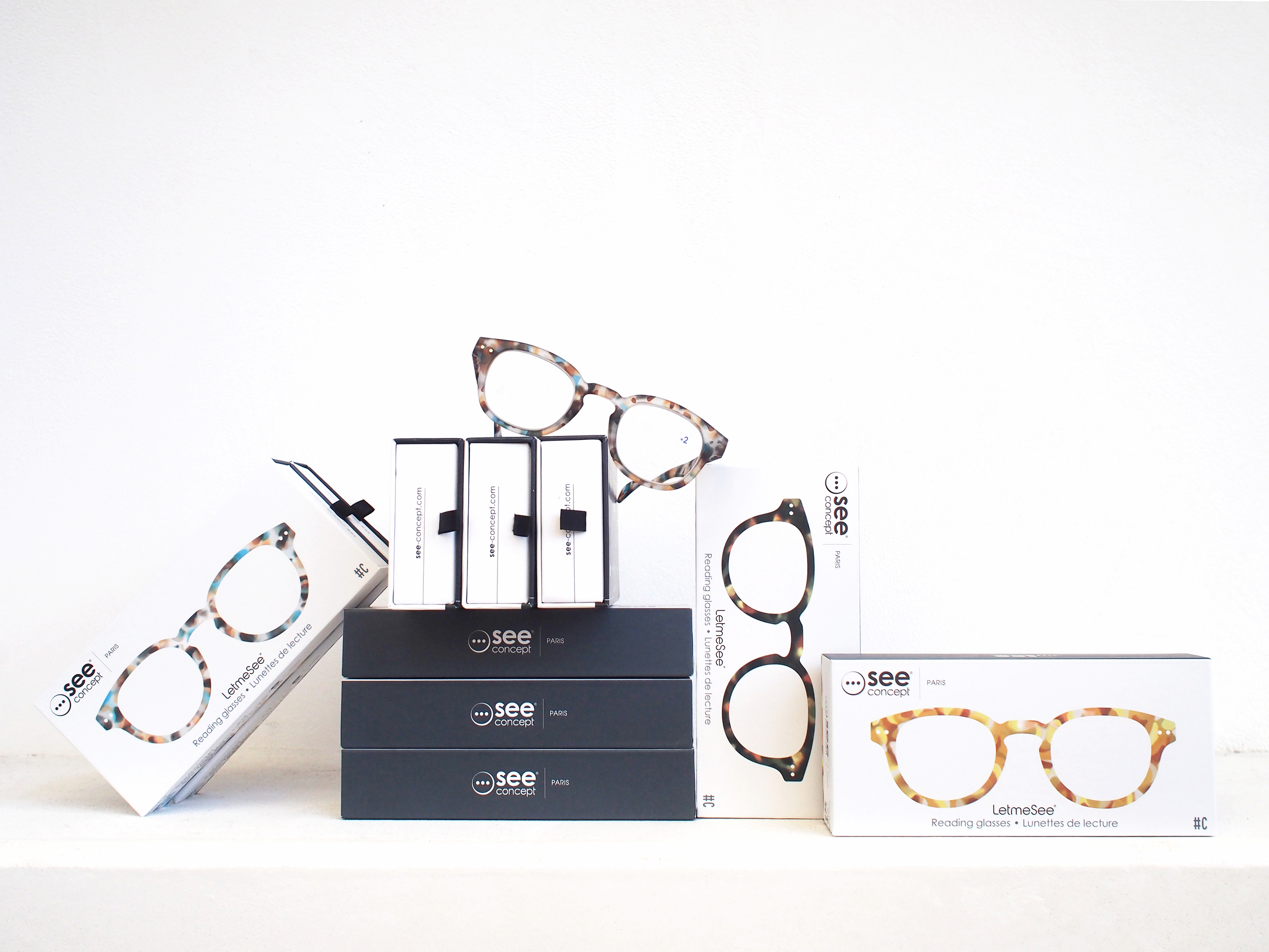 See Concept readers in tortoise shell.