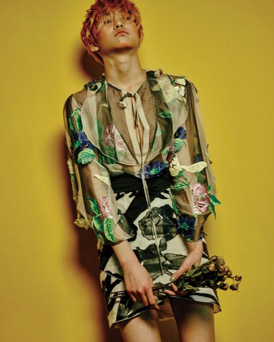 Blumarine - photographed by Yong Gyun Zoo for Dazed