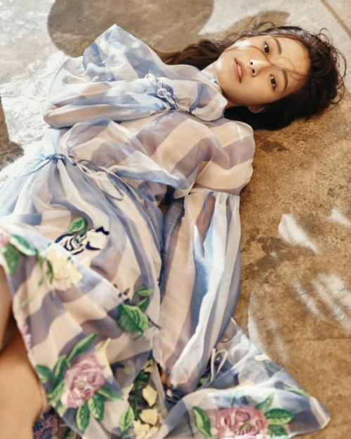 Blumarine - photographed by Kim Hyung Sik for Marie Claire Korea