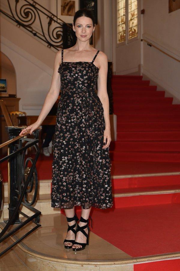 Caitriona Balfe in Valentino