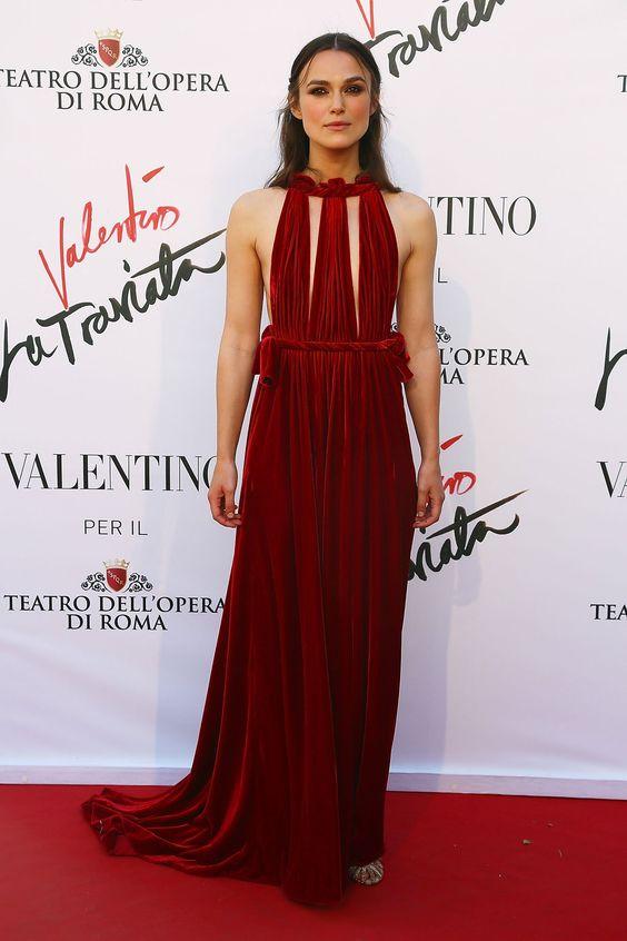 Kiera Knightley in Valentino