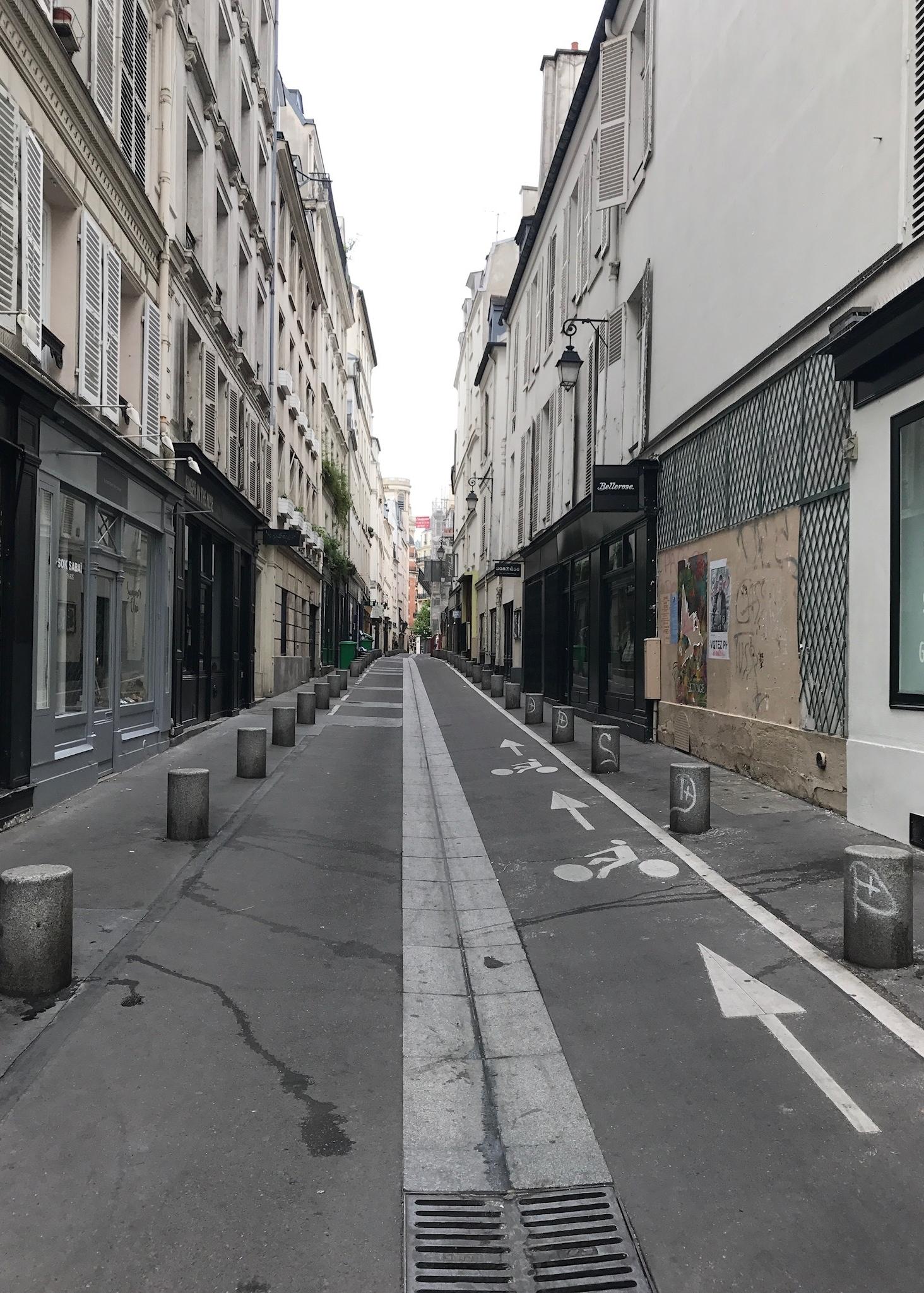 Paris streets in 6e