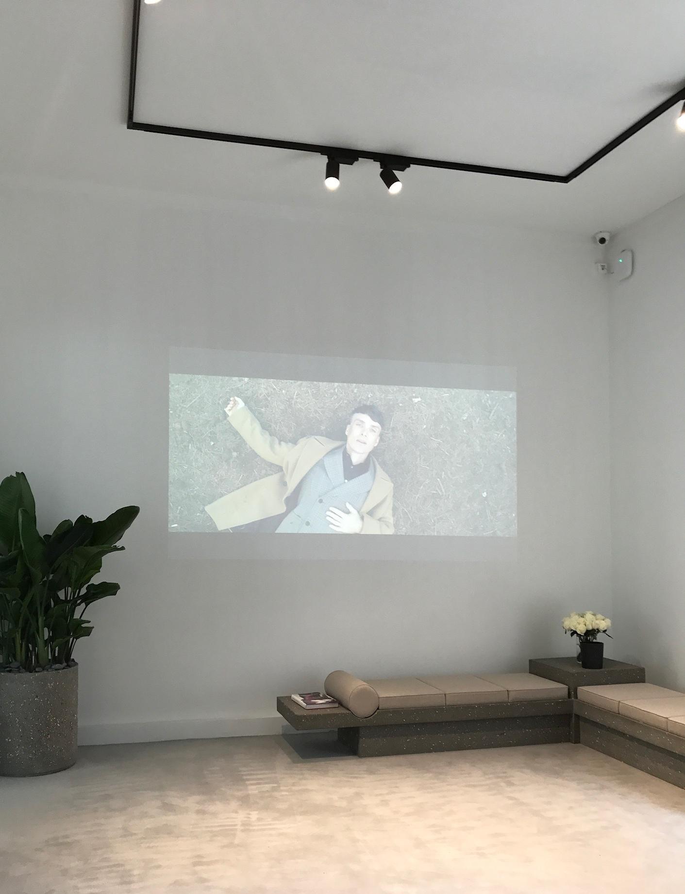 Stella McCartney Mens showroom - starring Cillian Murphy