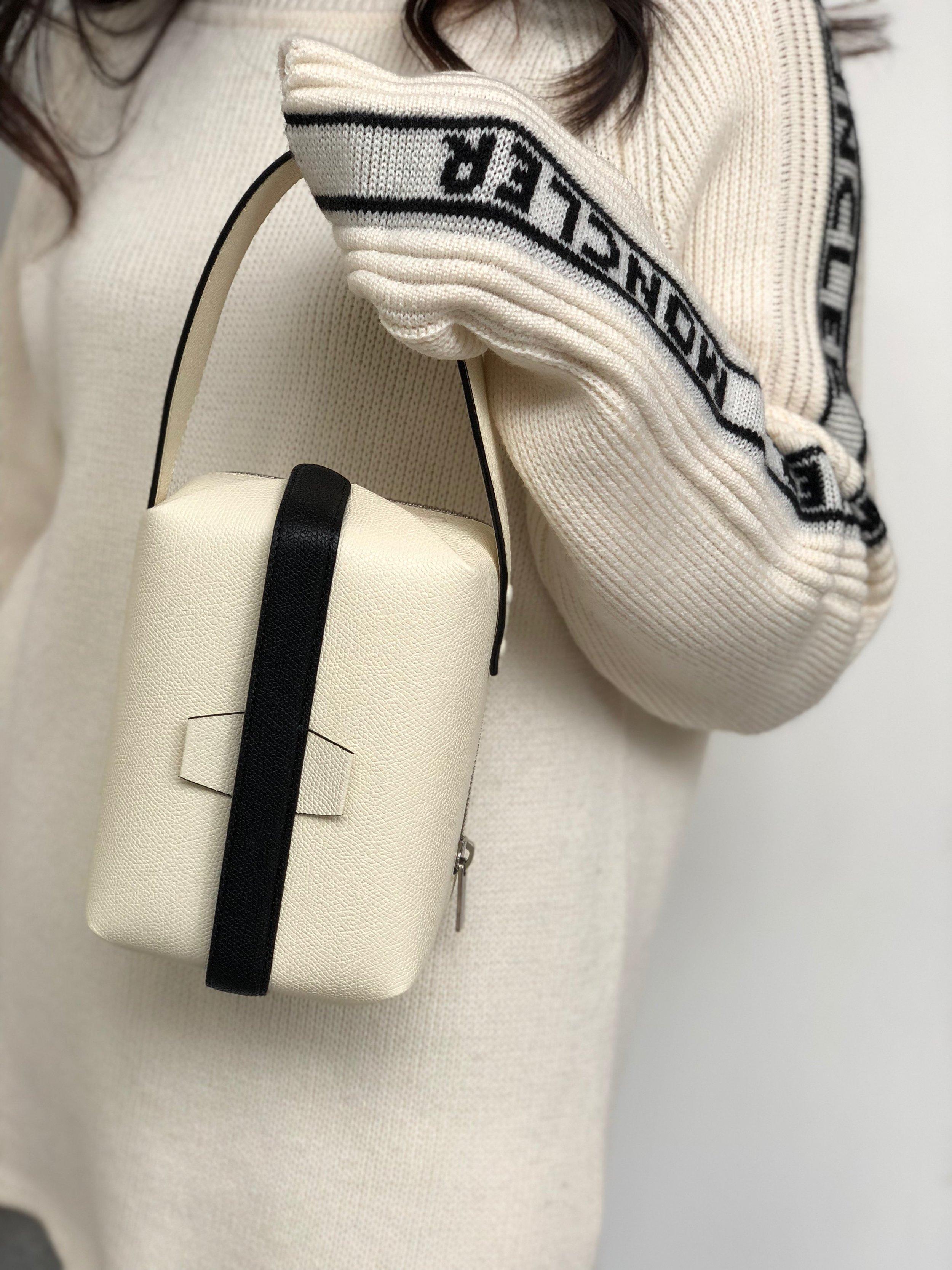 Favorite item #2 - The cutest Valextra purse.