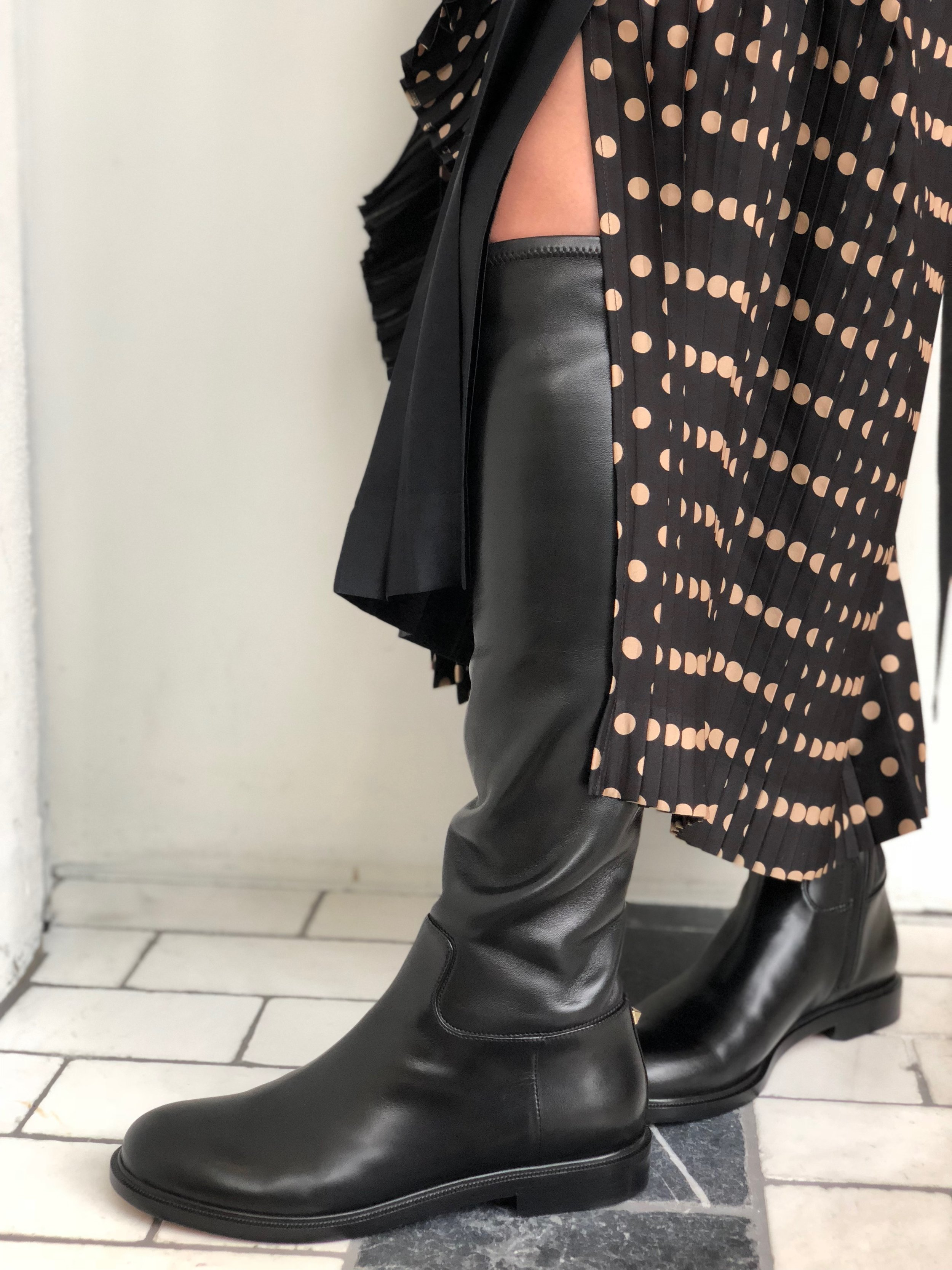 Favorite item #1 - Valentino knee-high boots.