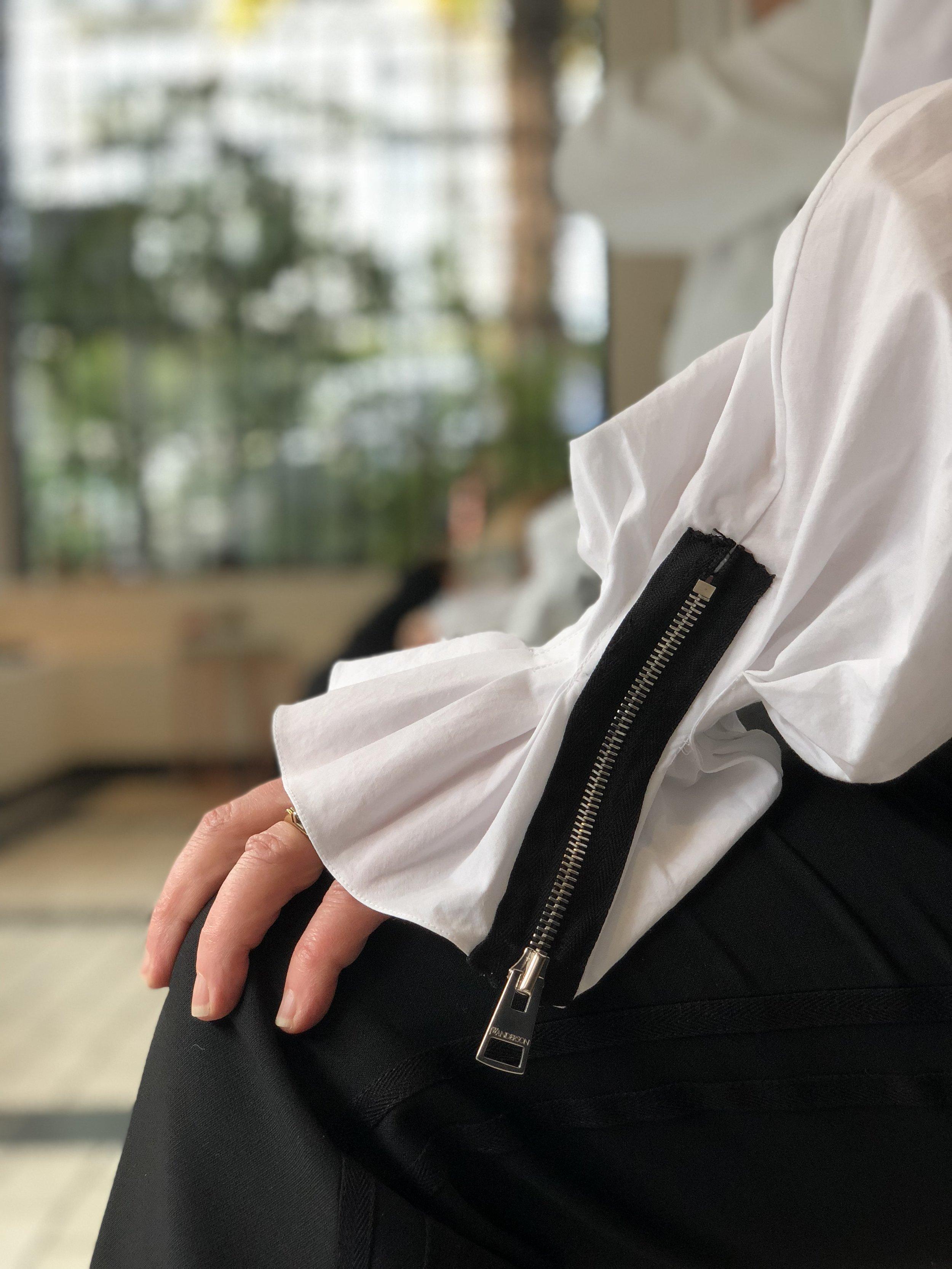 Those sleeves.