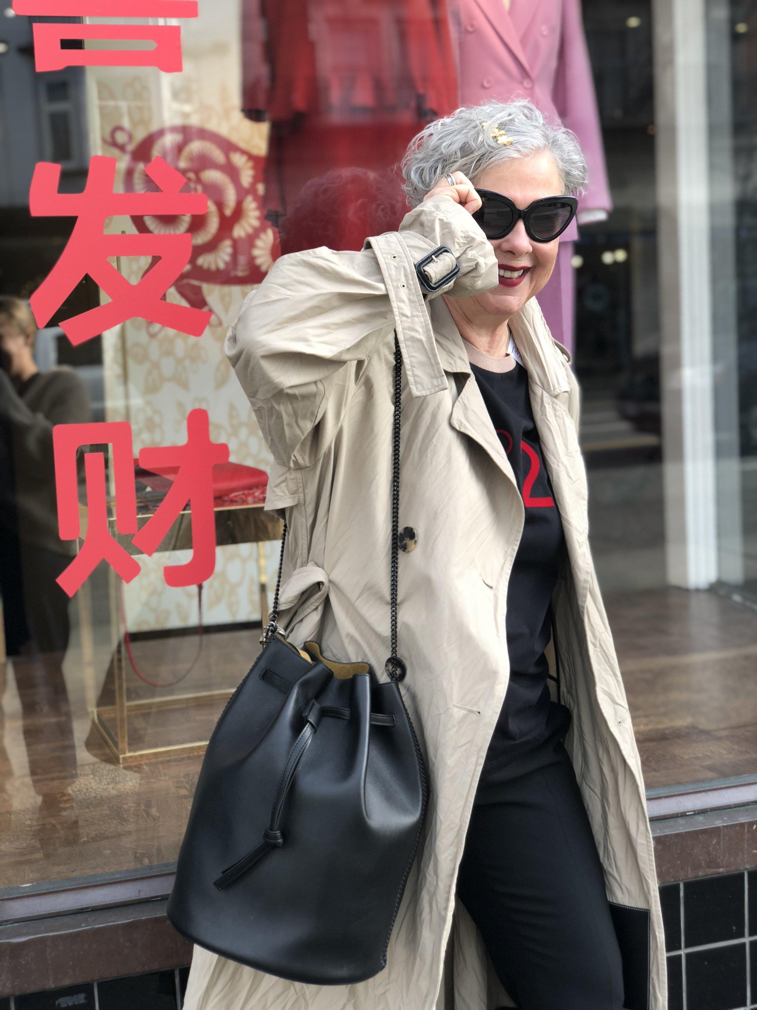 Favorite Item #3: This vegan leather Stella McCartney bag.