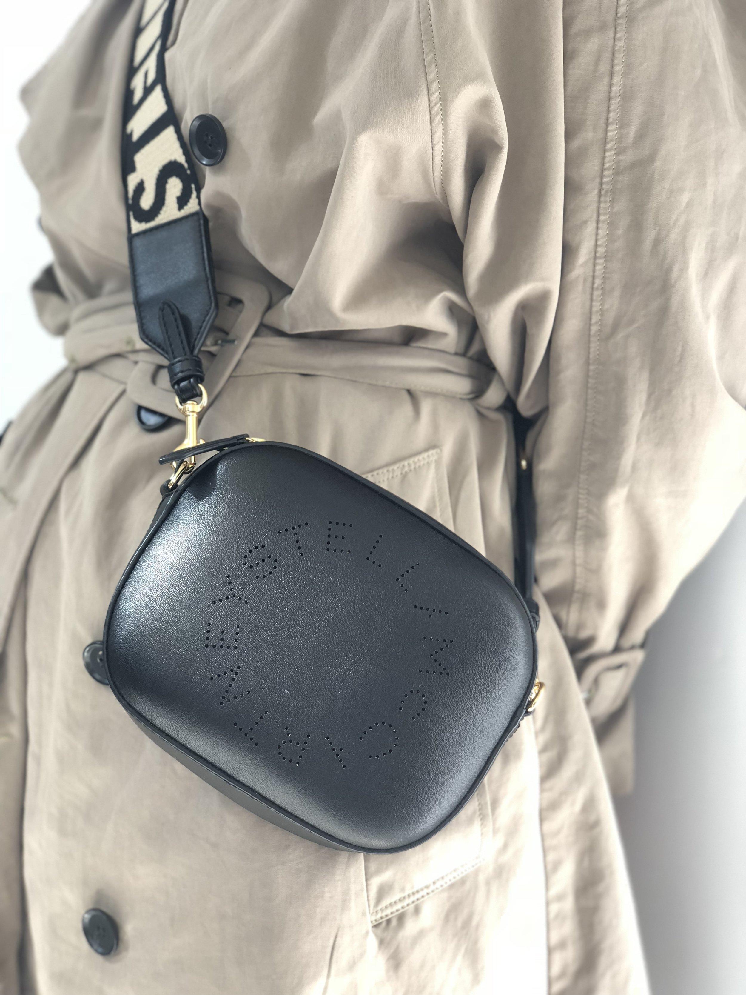 Favorite Item #2 - This Stella McCartney bag can be worn three ways.
