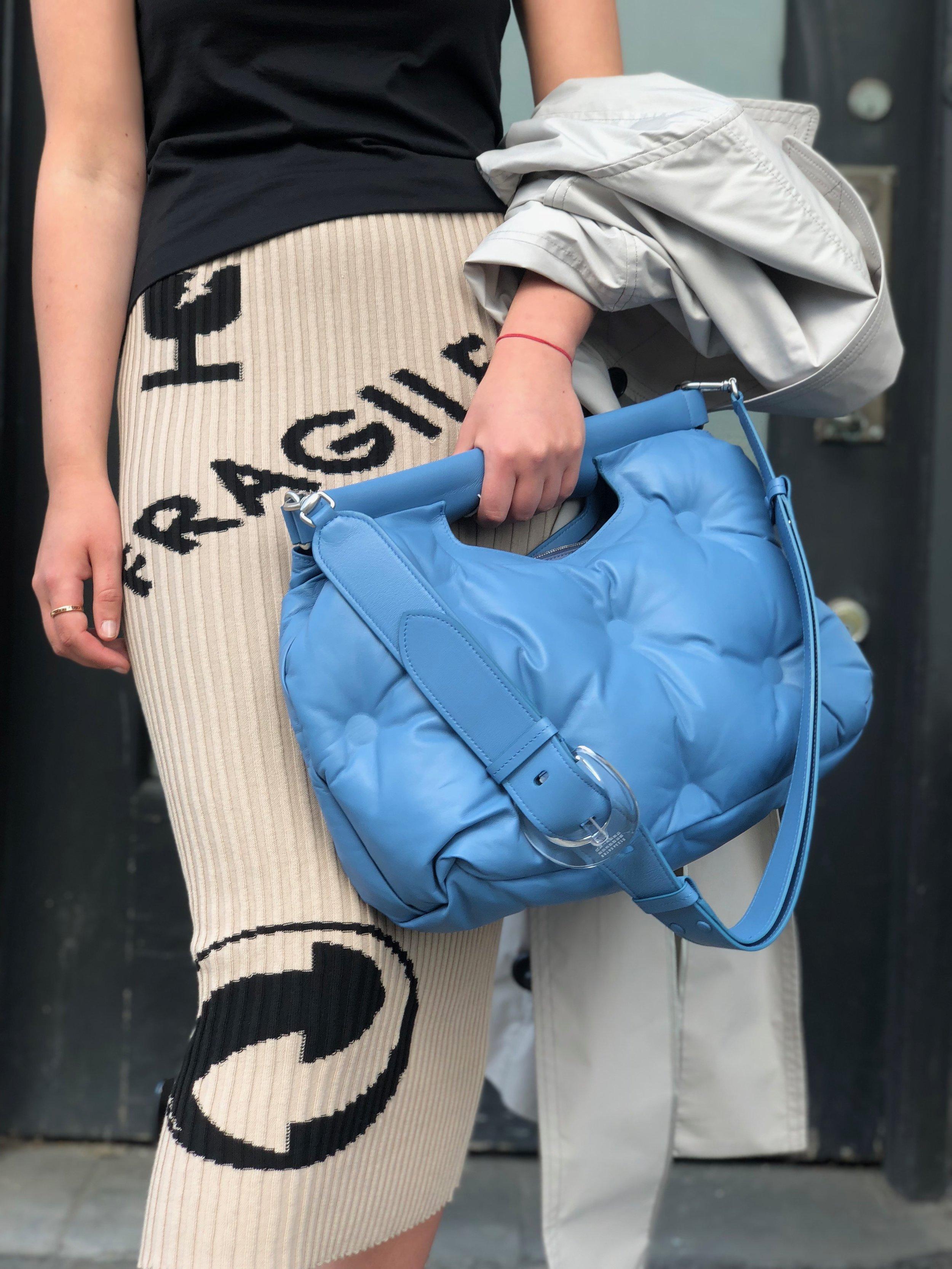 The most comfortable bag you'll ever own. Ahhh Margiela . . . zzzzzzzzzz