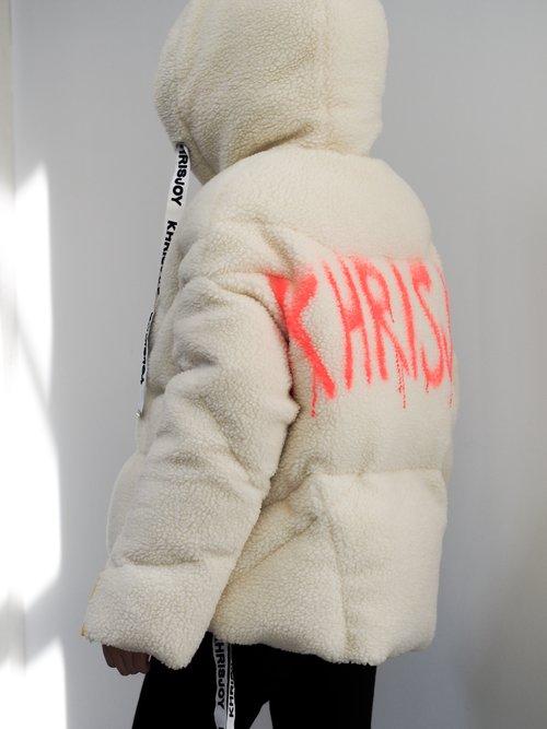 Khris Joy down jacket.