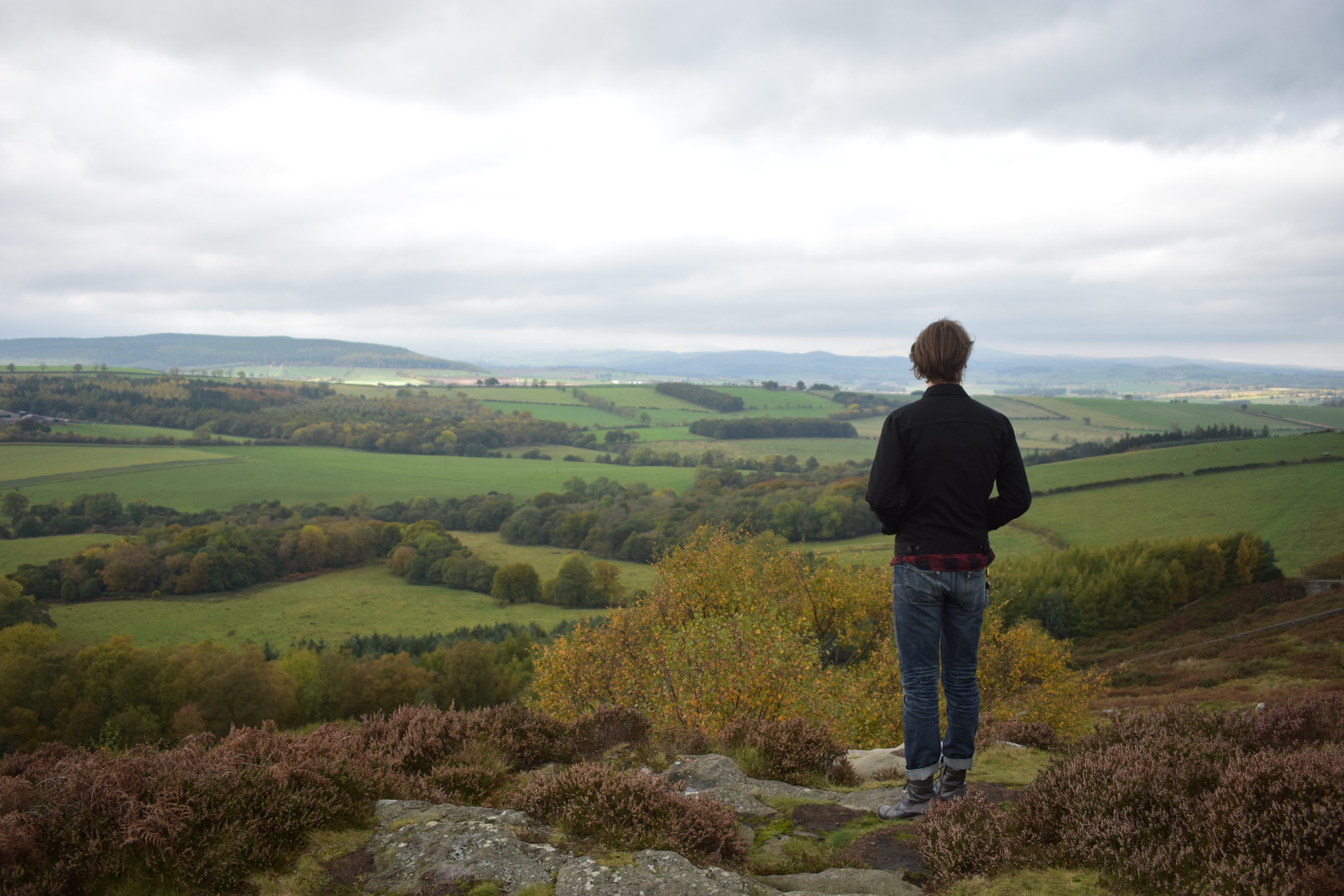 Northumberland Scenic Roadside View