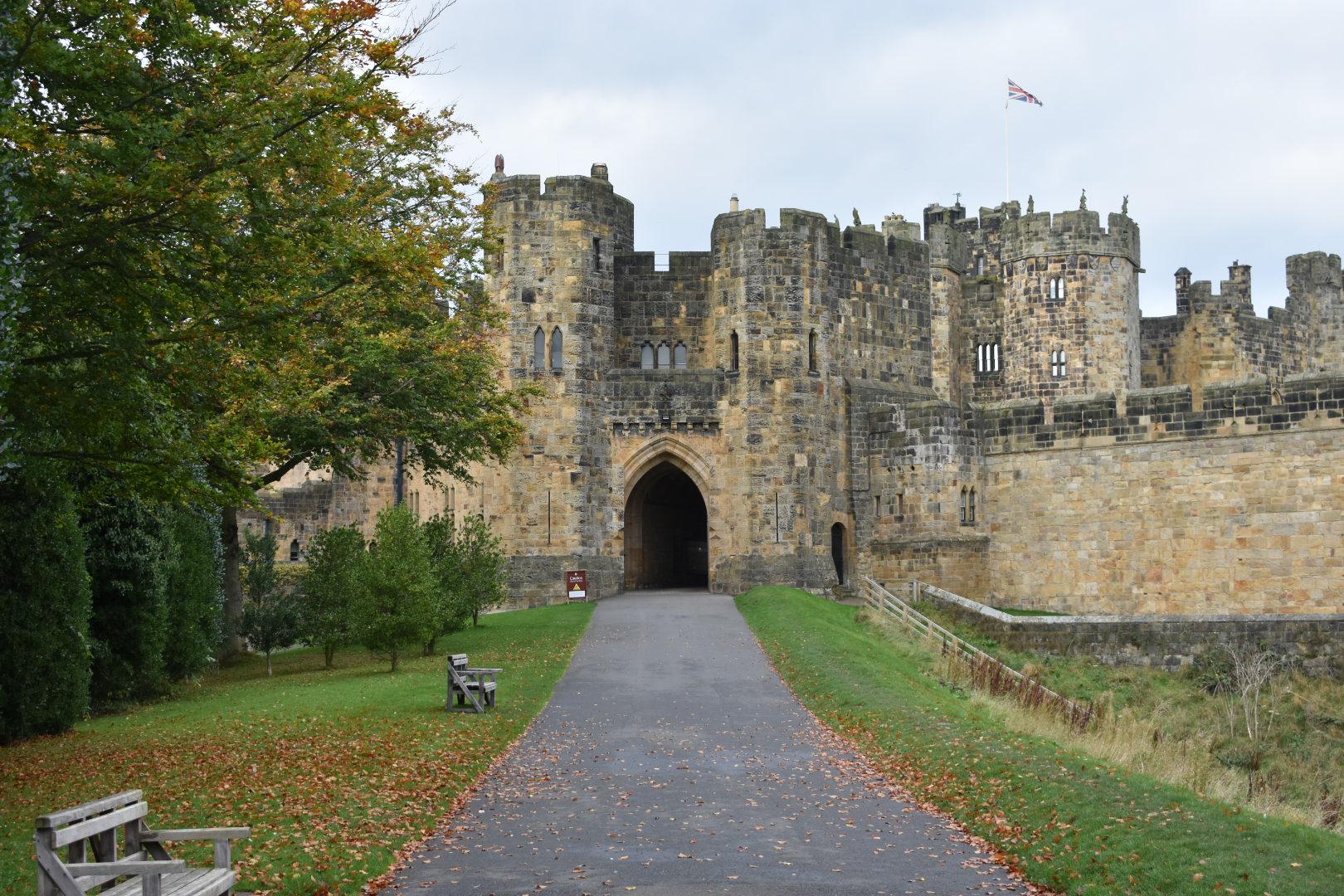 Alnwick Castle, Alnwick, England