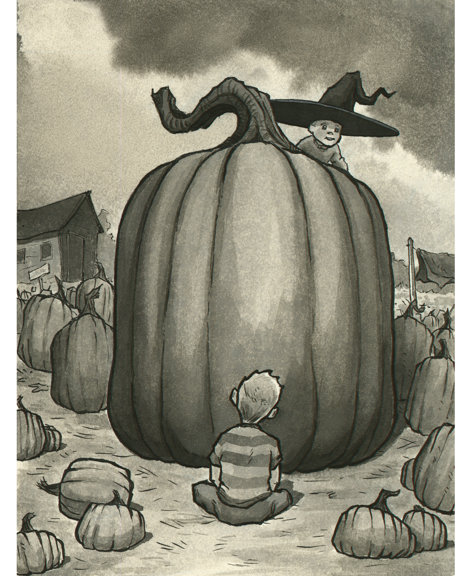 - In the calm of the pumpkin patch, an idea began to form in J-Walk's mind.