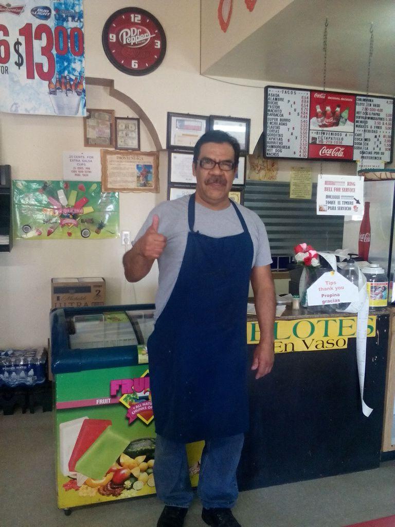 Daniel Rocha,  El Tapatillo Restaurant, San Elizario, TX