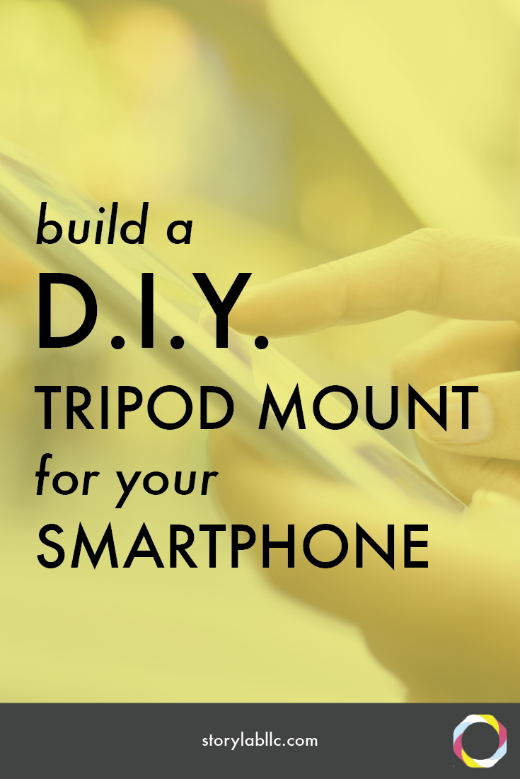 tripod, tripod mount, iphone android, tutorial, video, smartphone, video smartphone, content marketing, mobile storytelling, videography, storytelling, audio, apps, applications,