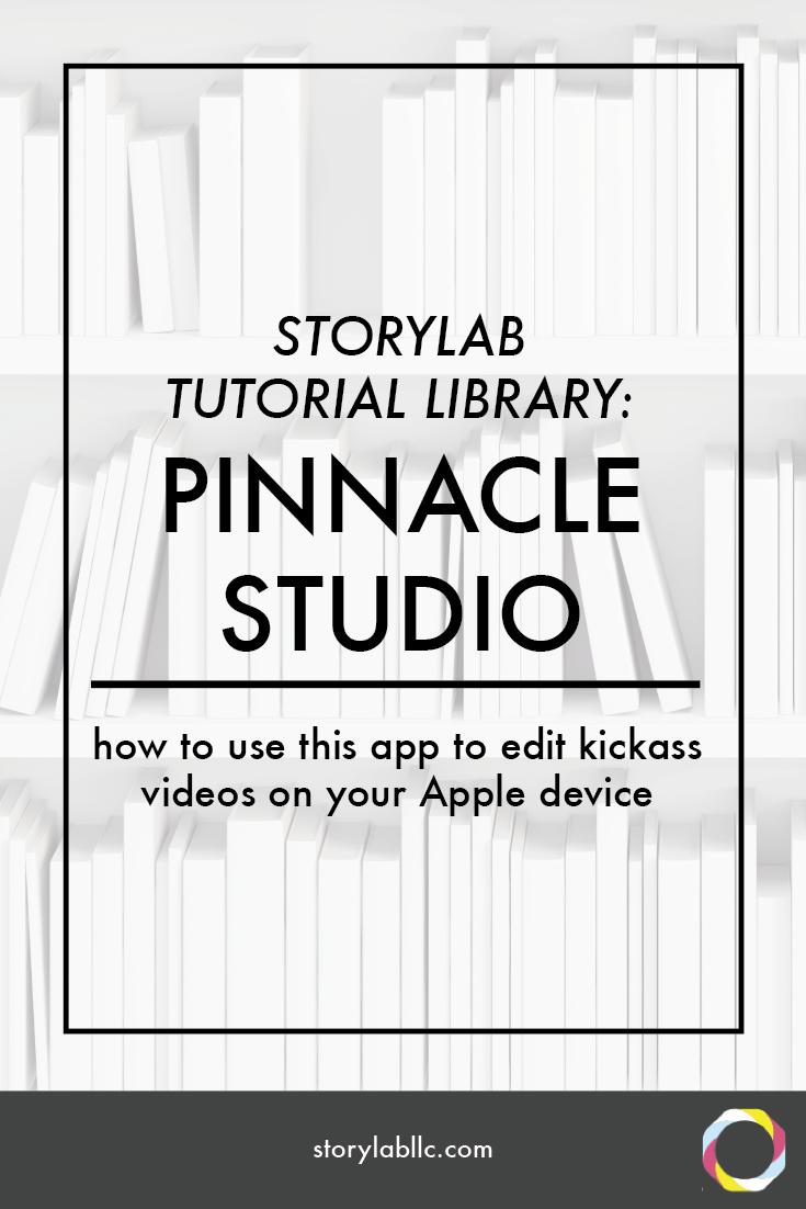 pinnacle studio, apple, tutorial, video editing, multitrack, video, smartphone, video smartphone, content marketing, mobile storytelling, videography, storytelling, audio, apps, applications,