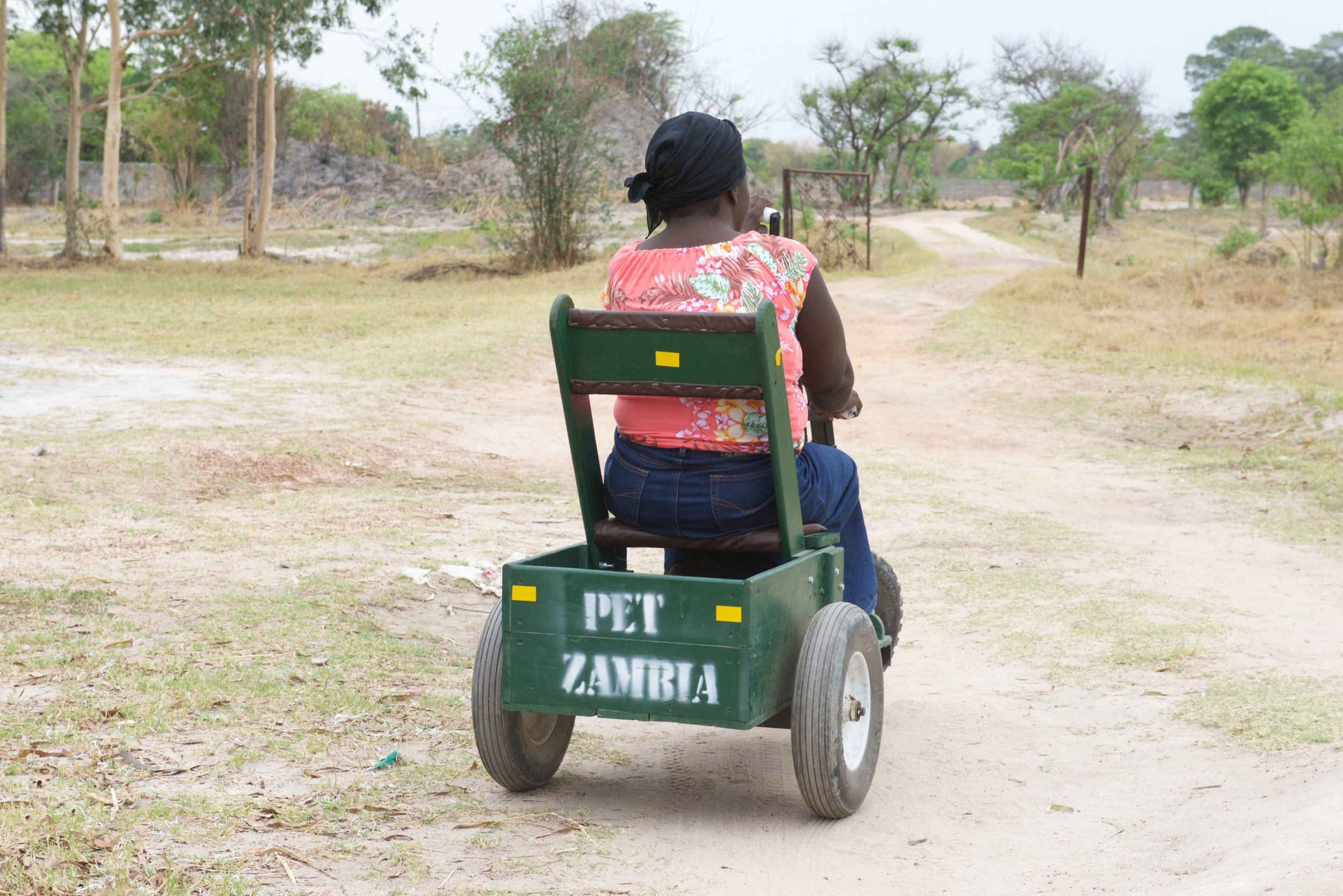 Zambia:The Gift of Mobility - A VR documentary about overcoming physical disabilities in Zambia, published by the Washington Post and featured at the Newseum in Washington, D.C.