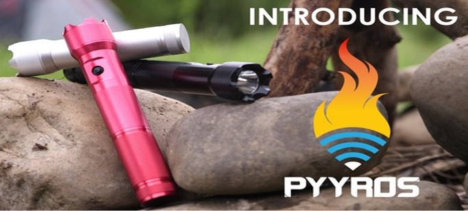 PYYROS - 100% MODULAR EMERGENCY TOOL AND FLASHLIGHT