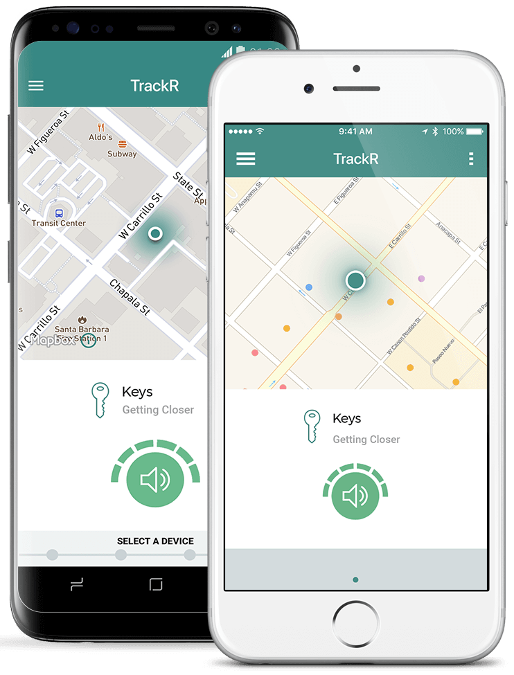 It's easy to track your things - Available for both iPhone and Android, the TrackR app is easy and fun to use. Track your important items, so you're always connected to the things you can't afford to lose.