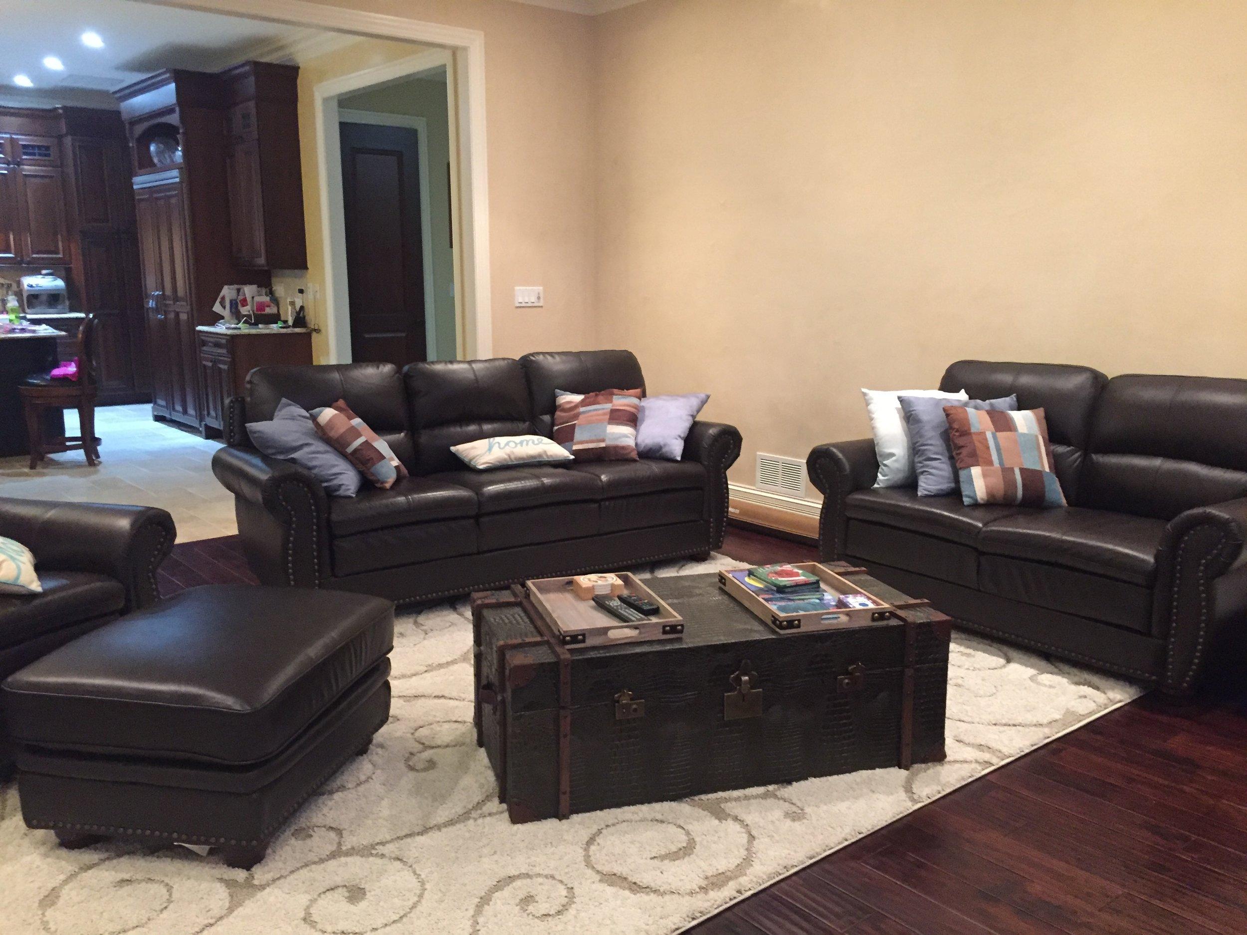 BEFORE- Dark Living Room Help