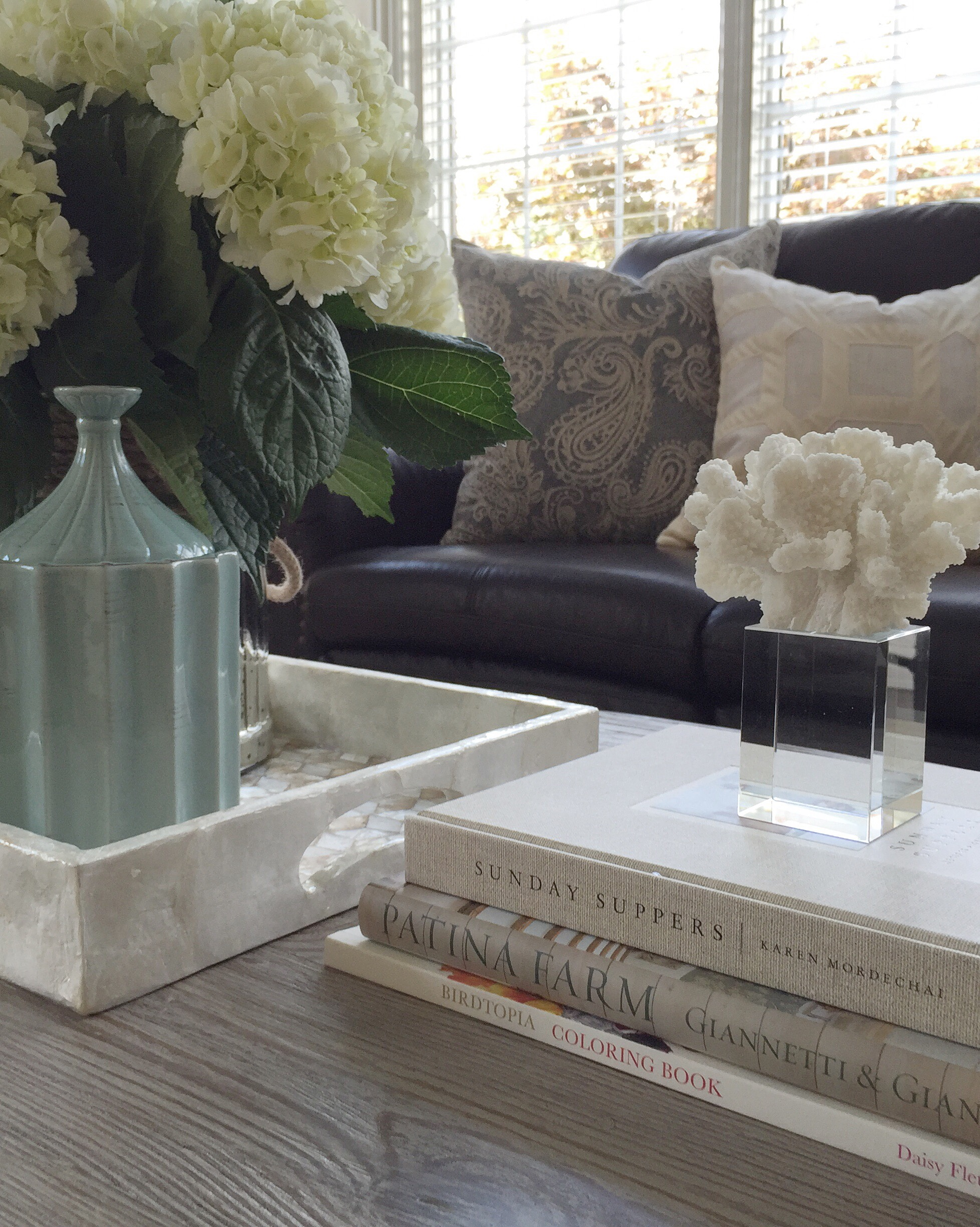 Coastal Living Room   Interior Styling by Laura Design Company