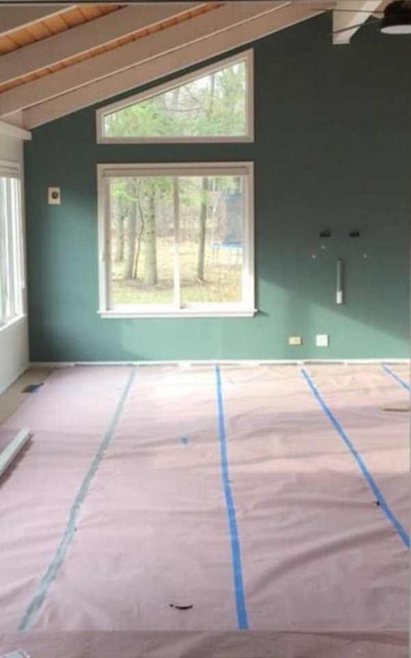 BEFORE photo: One Room Challenge by Laura Design Co.