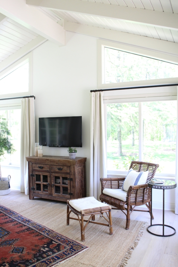 One Room Challenge: Casual Eclectic Family Room by Laura Design Co.