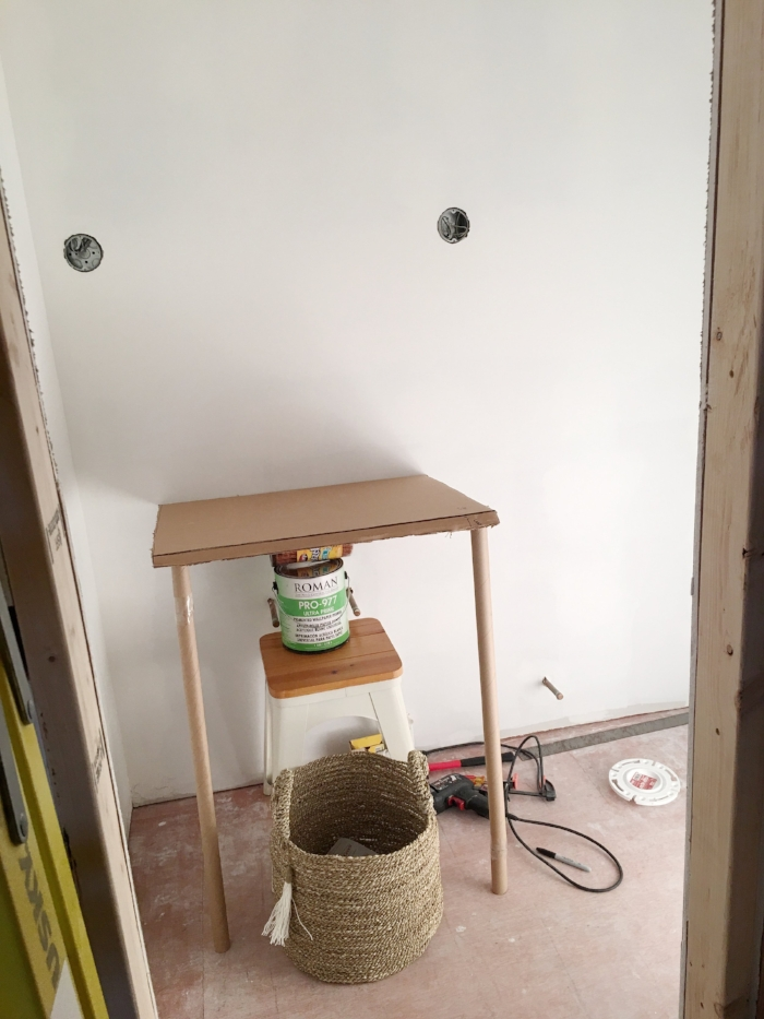 One Room Challenge Building a Powder Room- Laura Design Co.