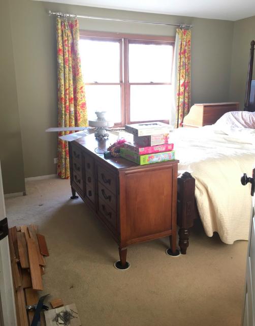 Tween girls bedroom BEFORE- One Room Challenge