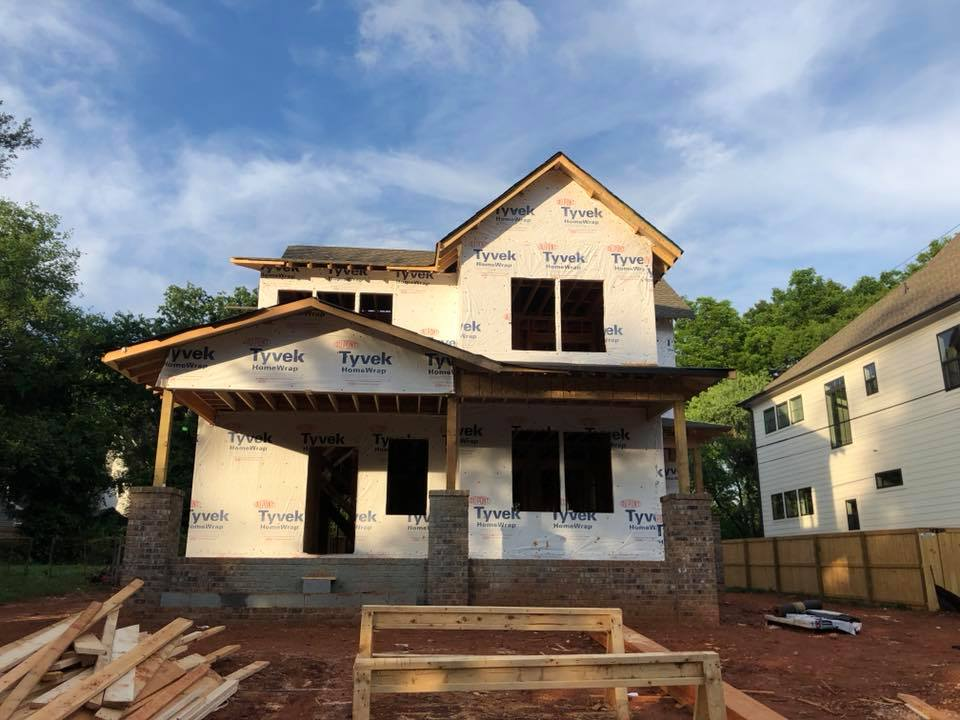New Build Charlotte NC Timberline Homes + Laura Design Co.
