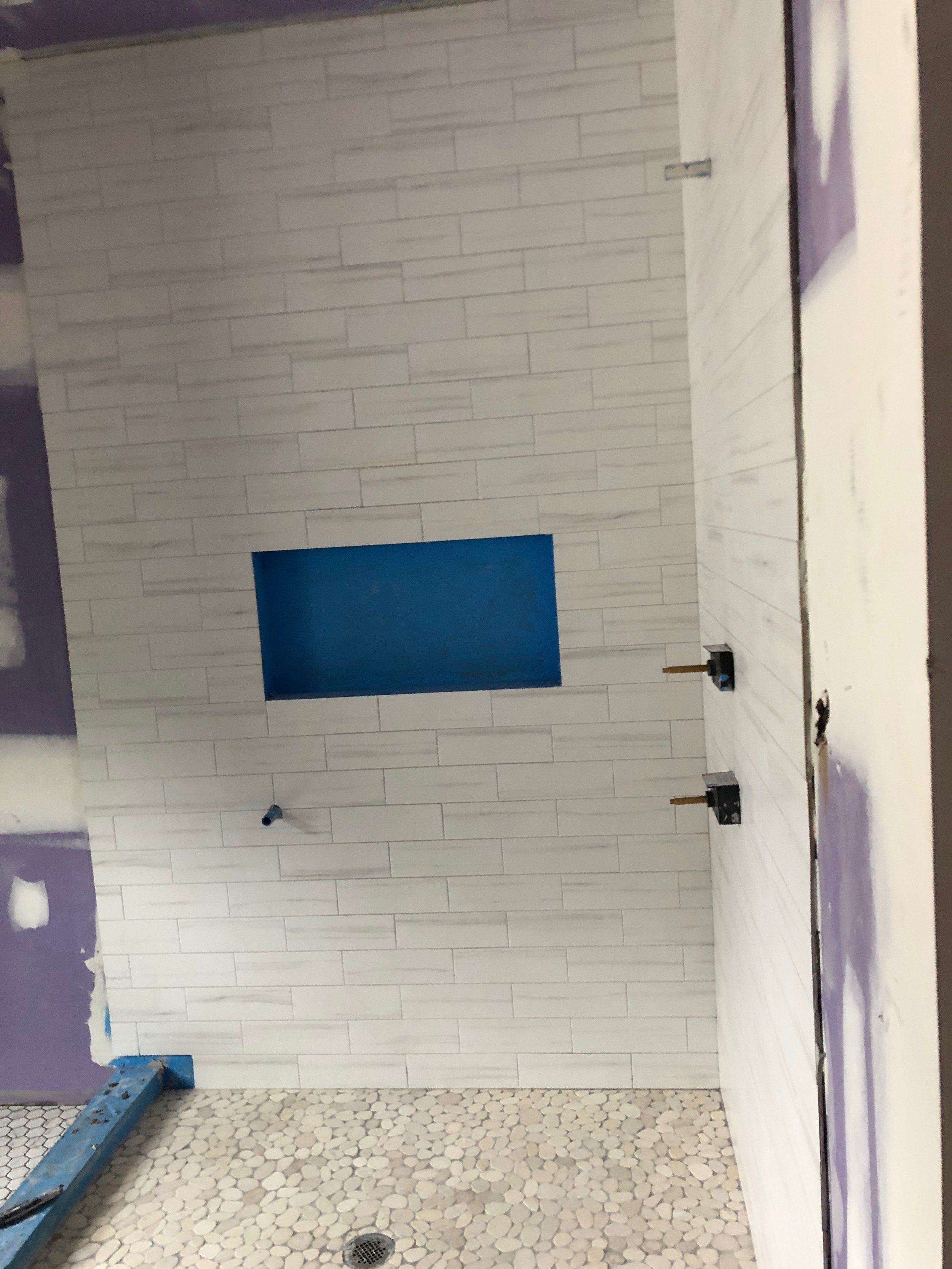 Mable 4 x 12 Subway Tile Shower