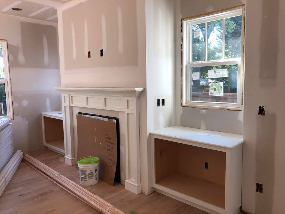 New Construction, Charlotte NC by Timberline Homes, Interior Design by Laura Design Co.