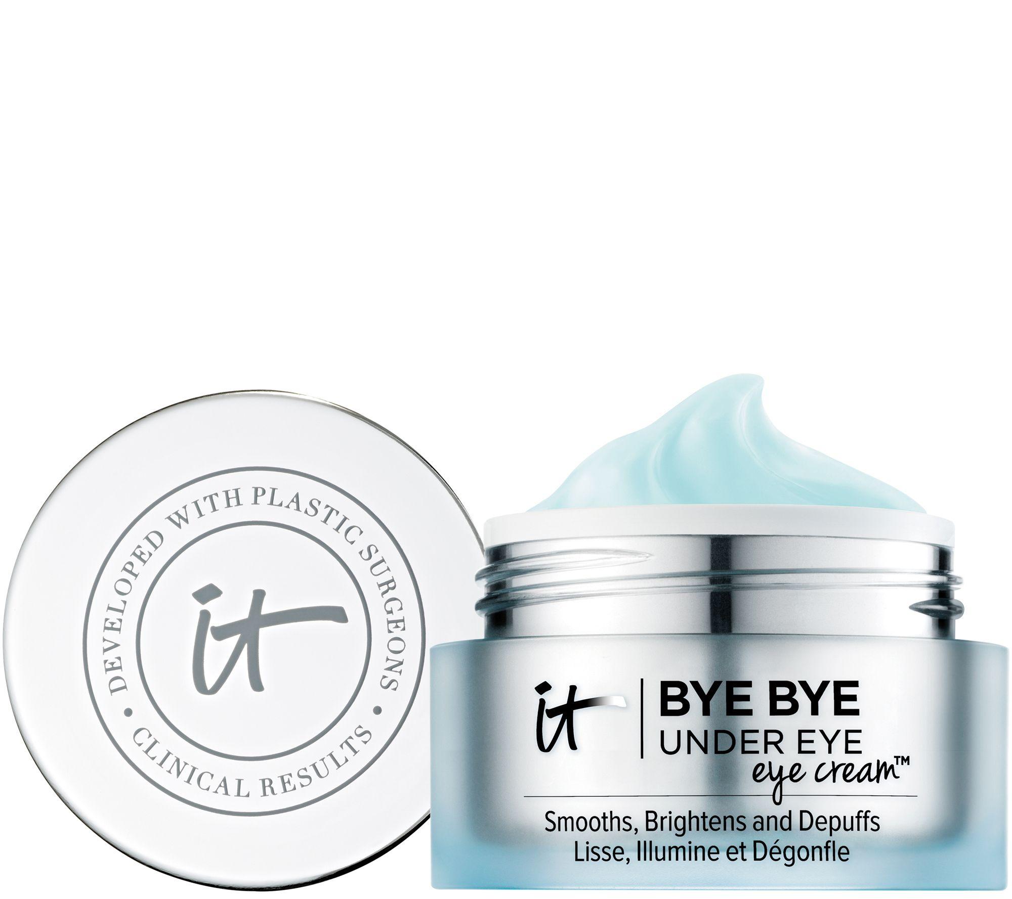 Step 2: IT COSMETICS  Bye Bye Under Eye Eye Cream™ Smooths, Brightens, Depuffs