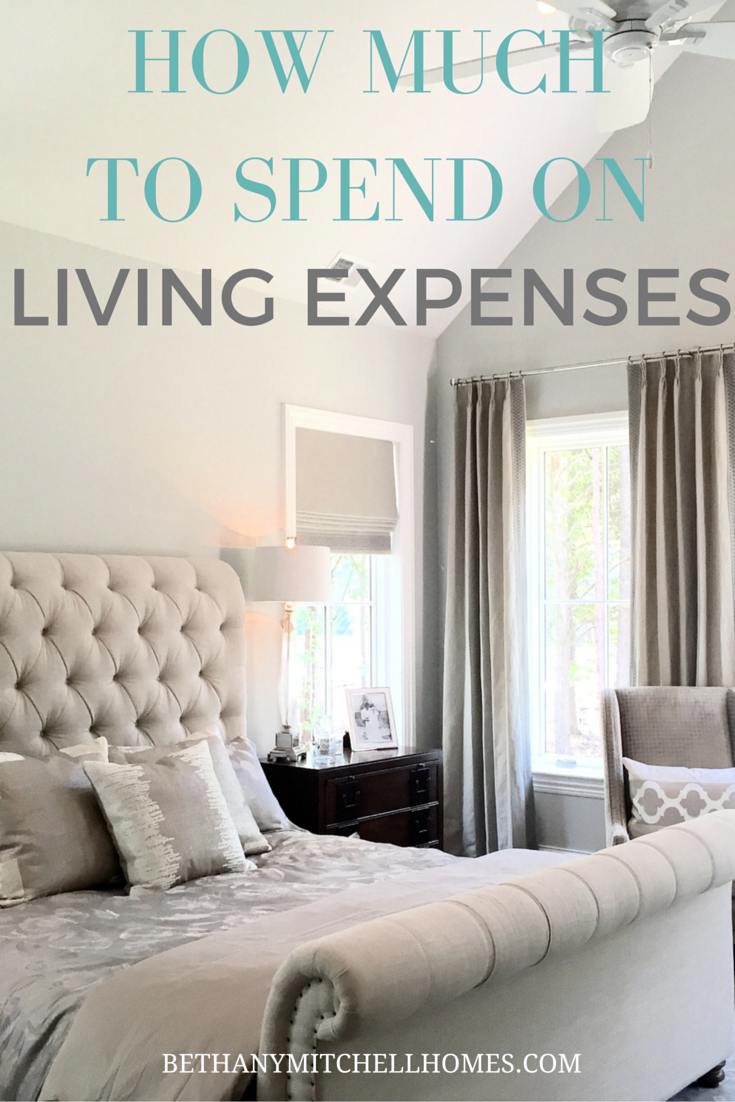 Bethany Mitchell Homes: How Much to Spend on Living Expenses
