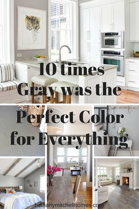 Bethany Mitchell Homes: 10 Times Gray was the Perfect Color for Everything