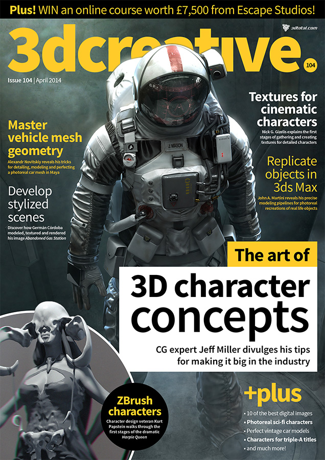 3d Creative - issue 104
