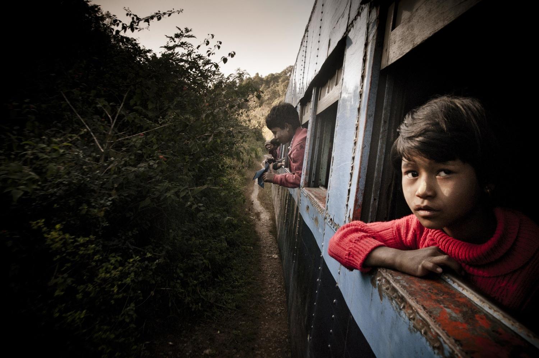Postcard Moment: Myanmar by train
