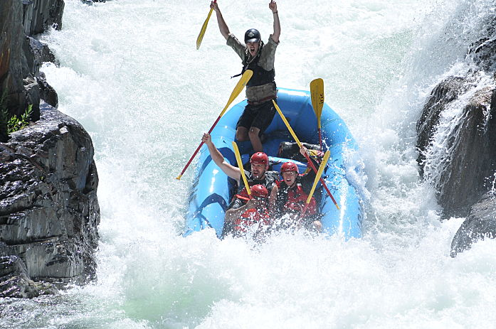 Whitewater Raft Guide Application