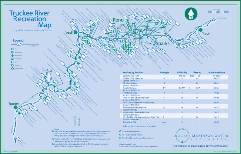 truckeeriverrecreation map