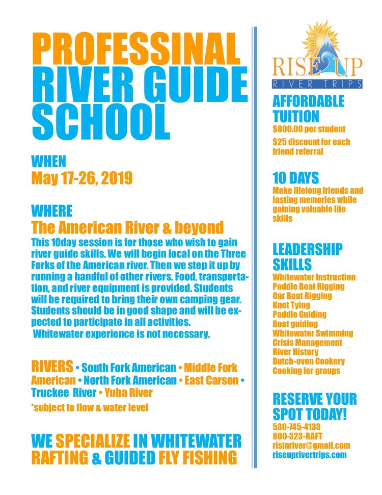 Isolated Rivers Incredible Experiences EventsGuide School 2019