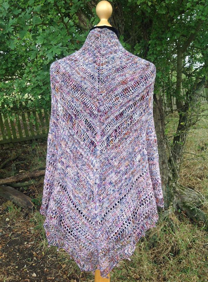 Jamaican Wedding Shawl - This pattern was designed for the Fall 2018 Outlander KAL/CAL. This pattern is now available. Requirements:874 yards of fingering weight**Please pay attention to the length of your selected yarn as different bases vary in length**As shown: Brianna Mackenzie on Luxury SockFor custom colors/bases click HERE