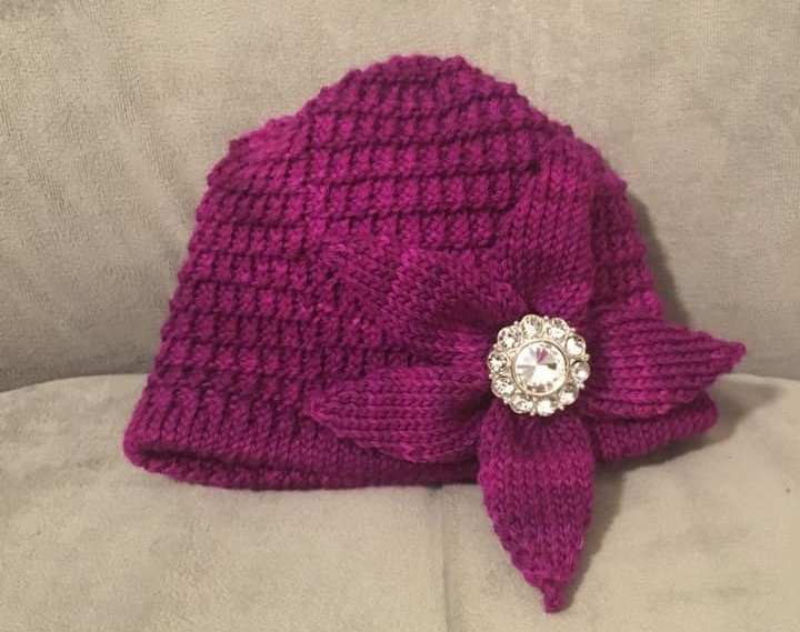 Berry Harvest Flower Hat