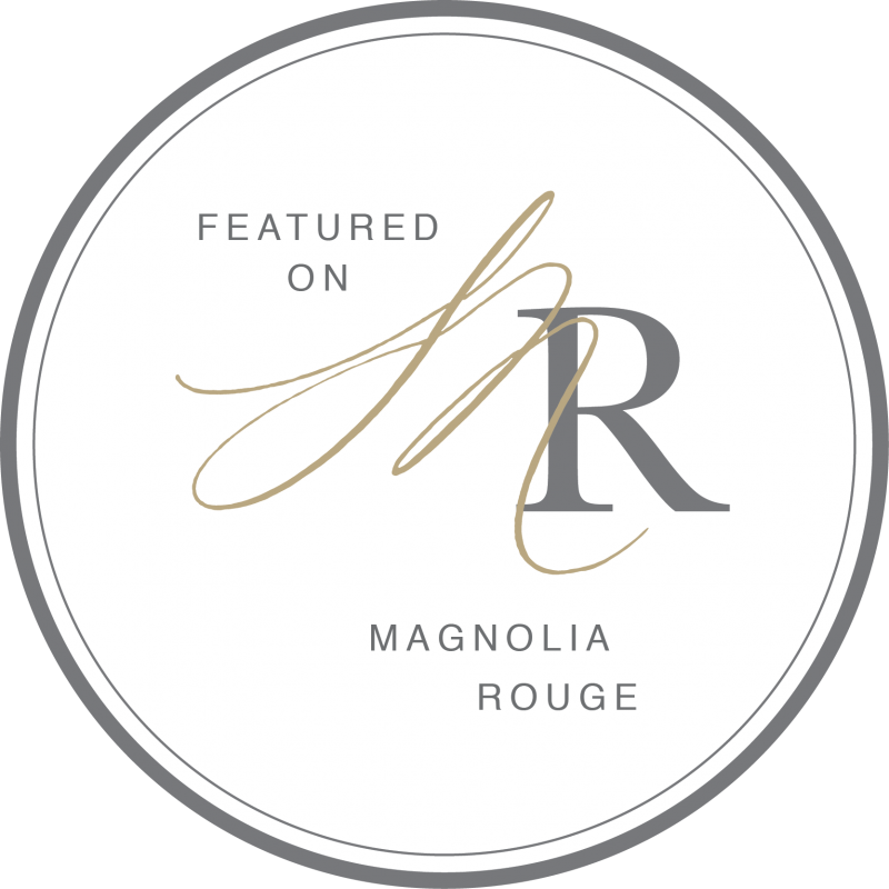 As featured on Magnolia Rouge