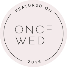 As seen on Once Wed
