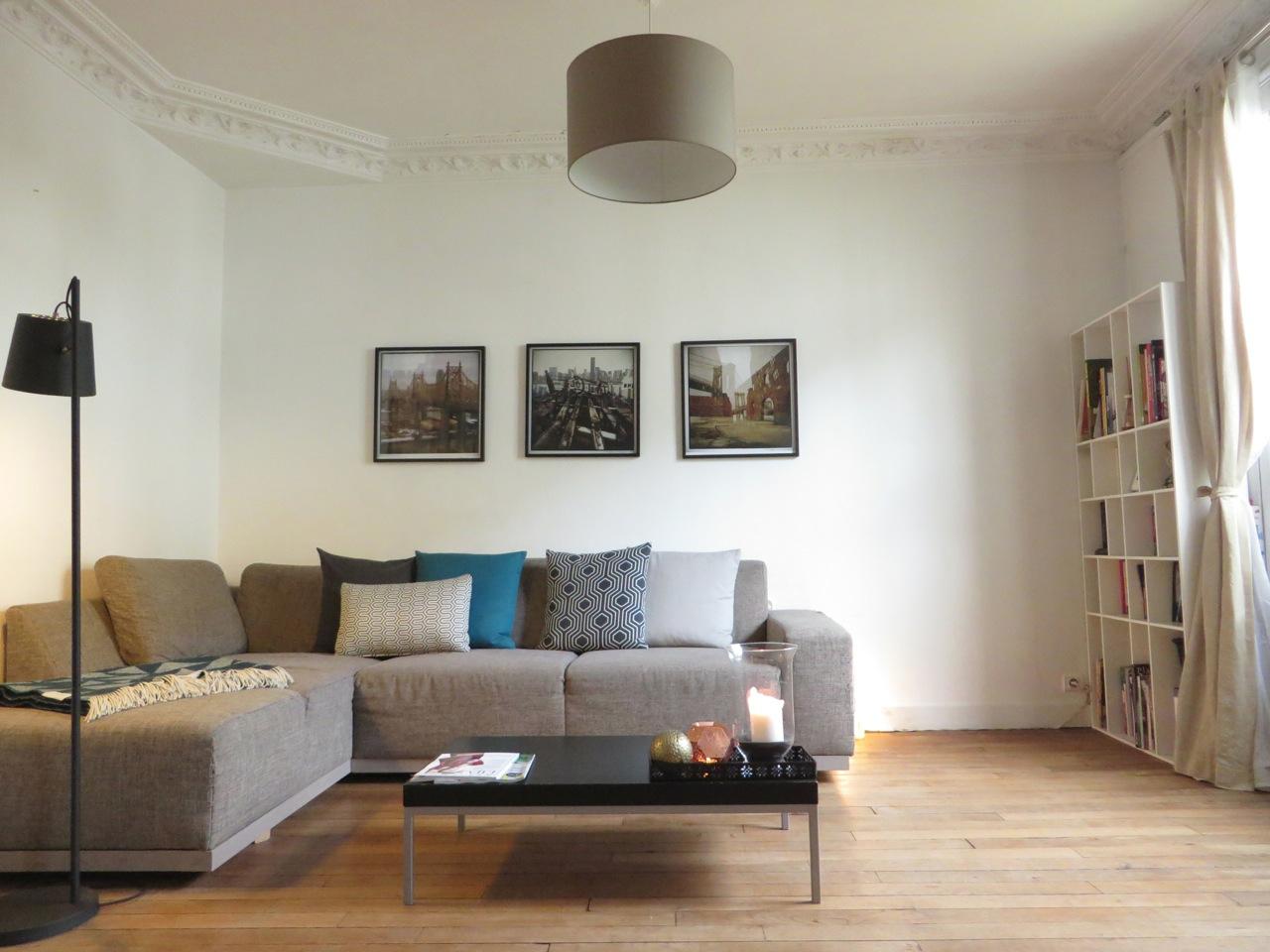 Appartement Haussmannien : séjour
