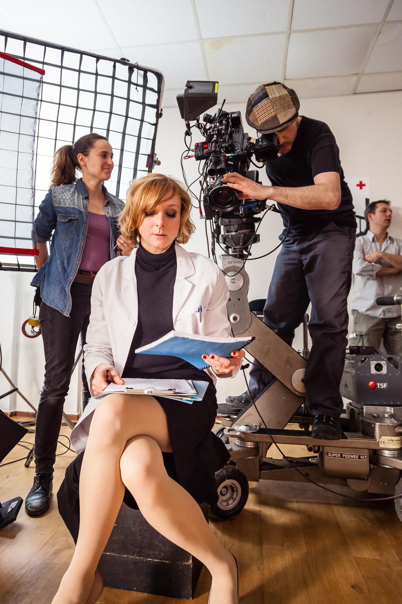 La Psy - Gaëlle Lebert etLucas Leconte,Directeur de la Photographie.