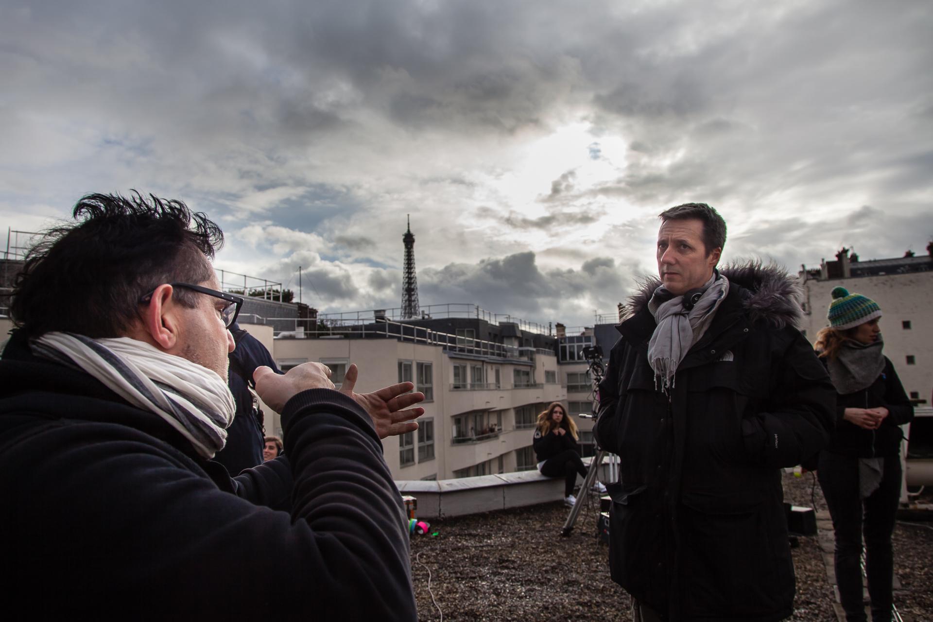 Réalisateur,Frédéric Pettitjean etAlain Braconnier,1er Assistant Réalisateur.
